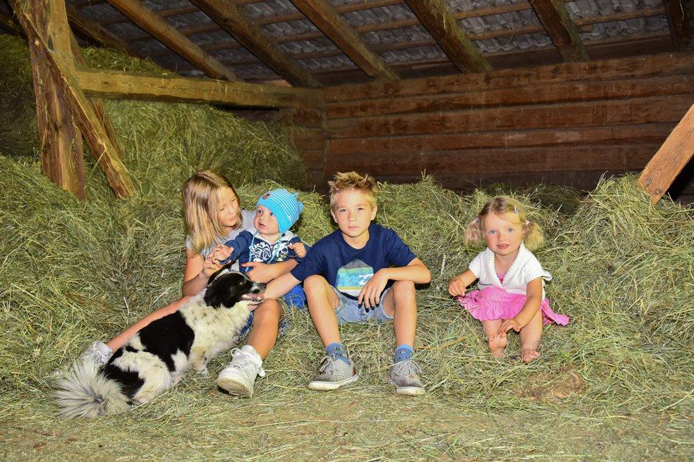 Vera vita contadina al Maso Tratterhof